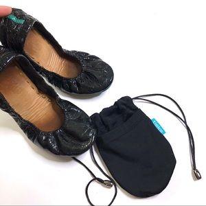 Tieks patent leather flats size 5